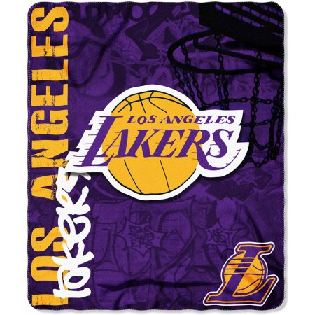 "NBA Los Angeles Lakers 50"" x 60"" Fleece Throw"