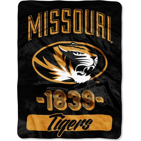 "Missouri Tigers ""Varsity"" 46"" x 60"" Micro Raschel Throw Blanket"