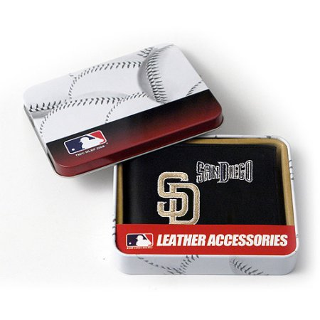 MLB Men's San Diego Padres Embroidered Billfold Wallet