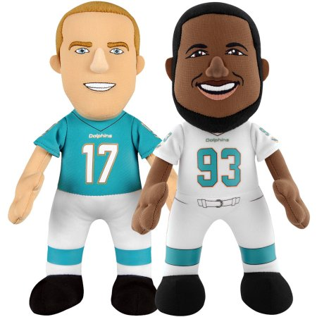 "Bleacher Creatures Dynamic Duo 10"" Plush Figures, Dolphins Suh and Tannehill"