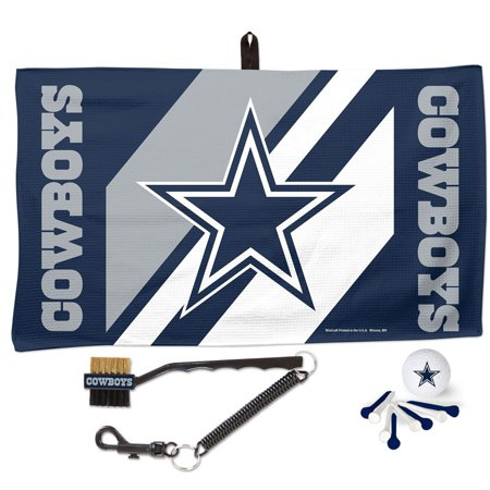 Dallas Cowboys WinCraft Waffle Towel Golf Gift Set - No Size