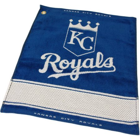 MLB Kansas City Royals Jacquard Woven Golf Towel