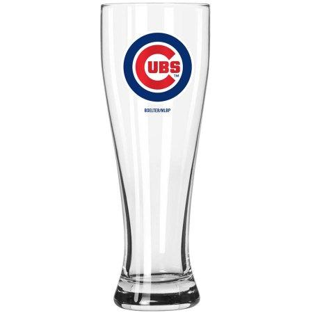 Boelter Brands MLB Chicago Cubs 23-Ounce Grand Pilsner with Full Color Team Logo