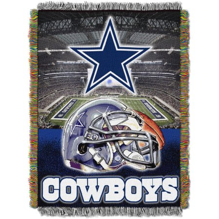 "NFL 48"" x 60"" Tapestry Throw Home Field Advantage Series- Cowboys"