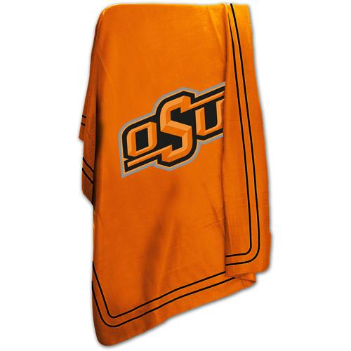 "Logo Chair NCAA Oklahoma State 50"" x 60"" Classic Fleece Throw"
