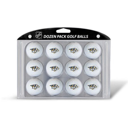 Team Golf NHL Nashville Predators Golf Balls, 12 Pack