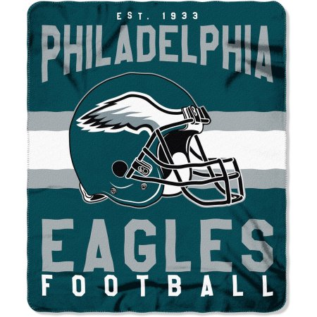 "NFL Philadelphia Eagles ""Singular"" 50"" x 60"" Fleece Throw"