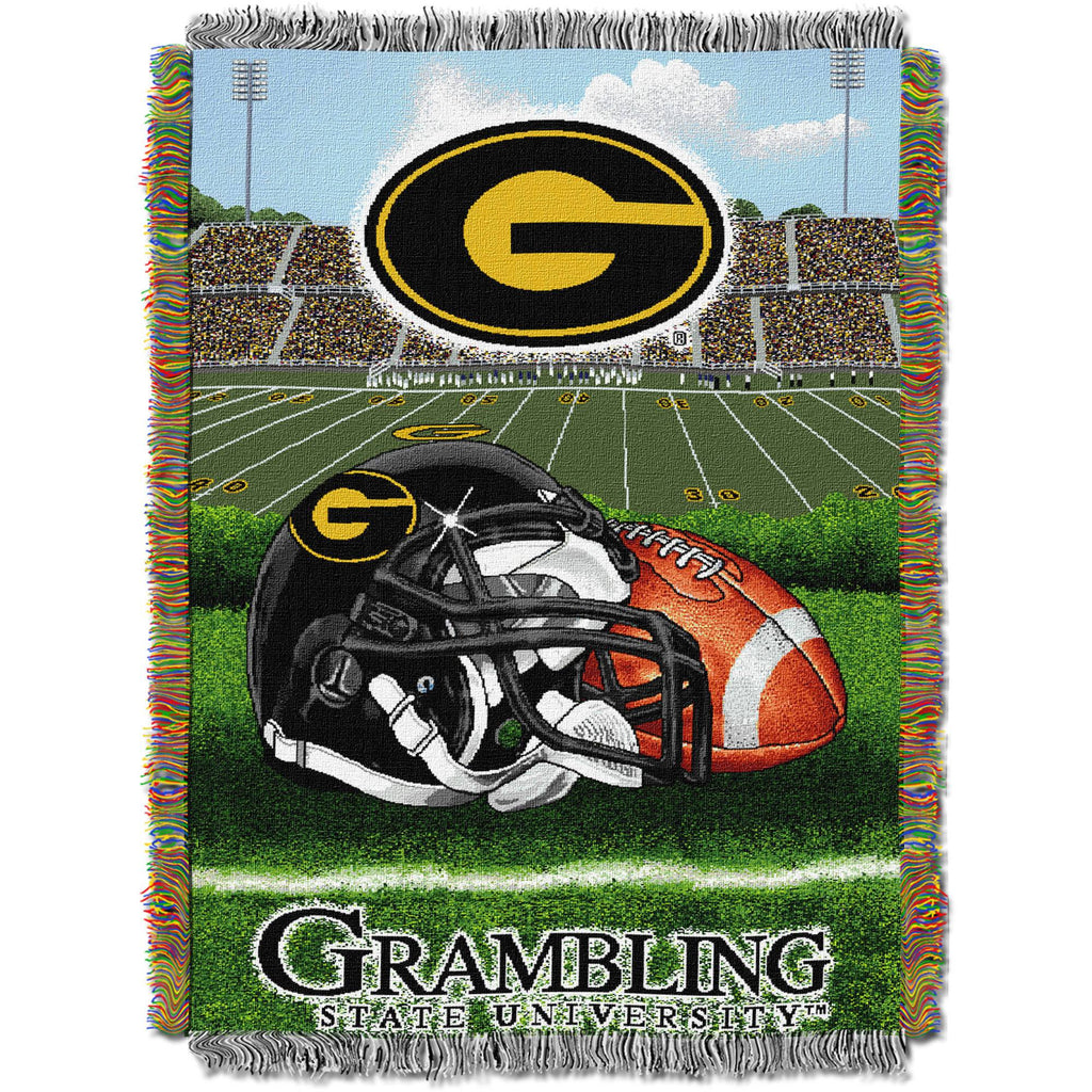 "NCAA 48"" x 60"" Home Field Advantage Series Tapestry Throw, Grambling State"