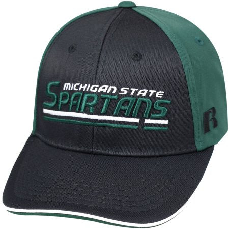 NCAA University of Michigan State Spartans Away Two Tone Baseball Hat \ Cap