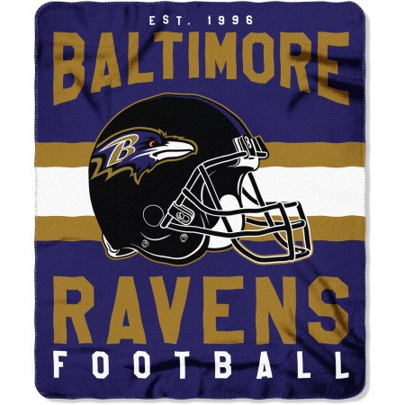 "NFL Baltimore Ravens ""Singular"" 50"" x 60"" Fleece Throw"
