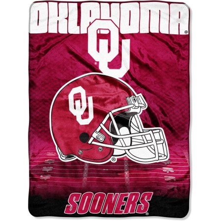 "Oklahoma Sooners 60"" x 80"" Oversized Micro Raschel Throw Blanket"