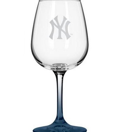 MLB New York Yankees 12oz Wine Glass