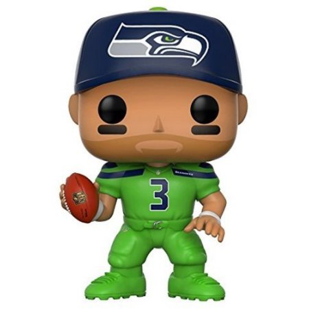 FUNKO POP! SPORTS: NFL W4 - RUSSELL WILSON (SEAHAWKS COLOR RUSH)
