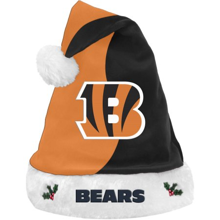 Forever Collectibles NFL Santa Hat, Cincinnati Bengals