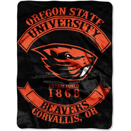 "NCAA Oregon State Beavers ""Rebel"" 60"" x 80"" Raschel Throw"