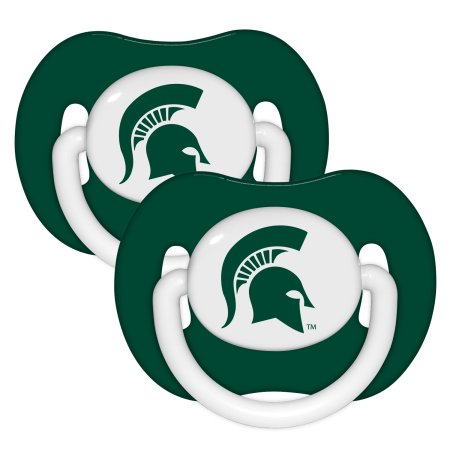NCAA Michigan State Spartans Pacifier 2-Pack