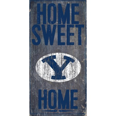 NCAA BYU Cougars 6'' x 12'' Home Sweet Home Sign