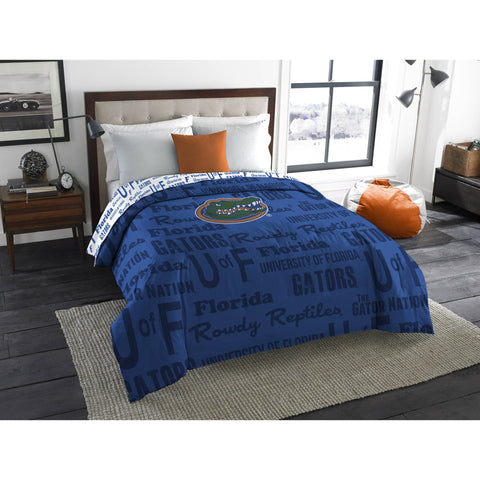 "NCAA Florida Gators ""Anthem"" Twin/Full Bedding Comforter"