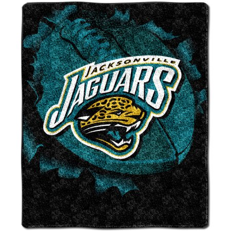 "NFL Jacksonville Jaguars ""Burst"" 50"" x 60"" Sherpa Throw"
