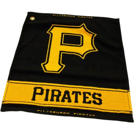 MLB Pittsburgh Pirates Jacquard Woven Golf Towel