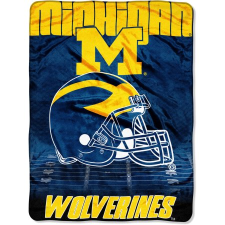 "Michigan Wolverines 60"" x 80"" Oversized Micro Raschel Throw Blanket"