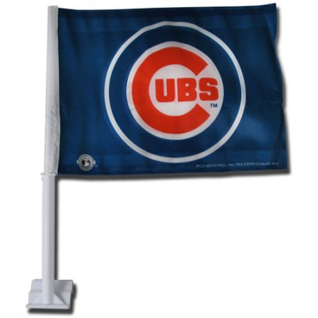 MLB Car Flag - Chicago Cubs