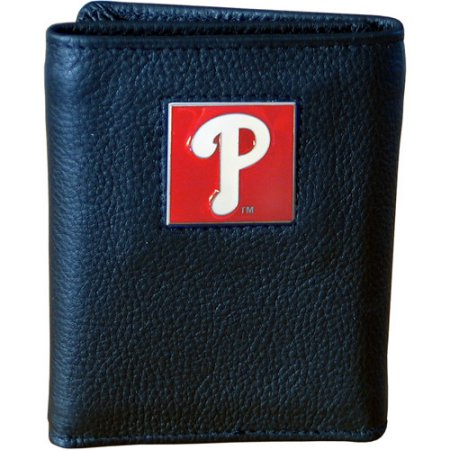MLB Executive Tri-Fold Wallet in Collector's Tin - Phildelphia Phillies