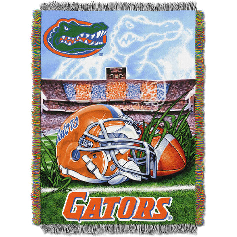 "NCAA 48"" x 60"" Tapestry Throw Home Field Advantage Series- Florida"