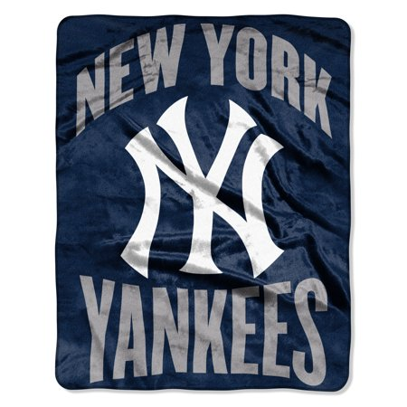 "MLB New York Yankees ""Apple"" - Silk Touch Throw Blanket, 55"" x 70"""