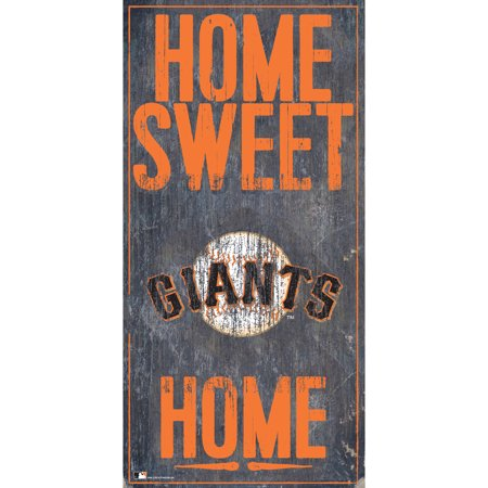 MLB San Francisco Giants 6'' x 12'' Home Sweet Home Sign