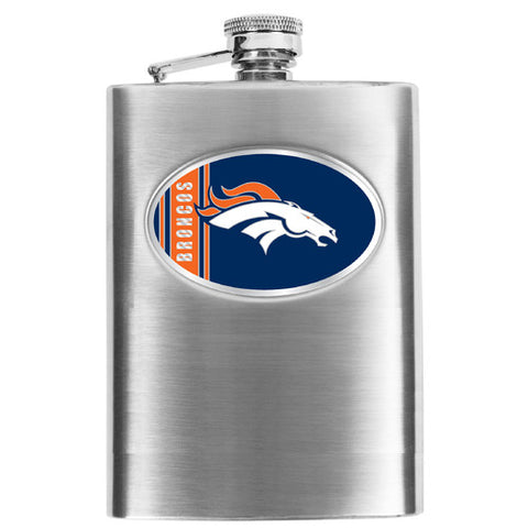 NFL Men's Denver Broncos Hip Flask