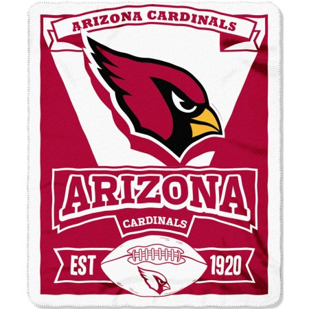 "NFL Arizona Cardinals 50"" x 60"" Fleece Throw"