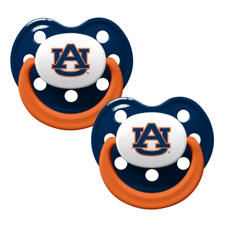 NCAA Auburn Tigers Pacifier 2-Pack