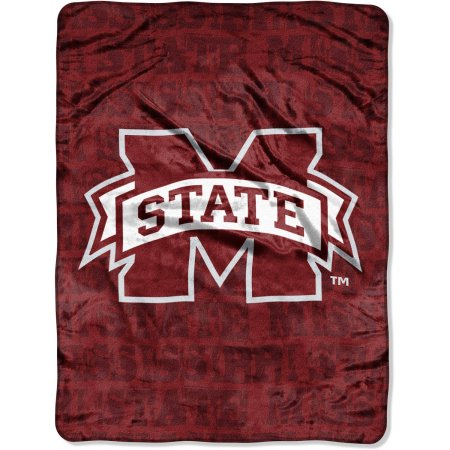 "Mississippi State Bulldogs 46"" x 60"" Micro Raschel Throw Blanket"