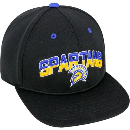NCAA University of San Jose State Spartans Flatbill Baseball Hat \ Cap