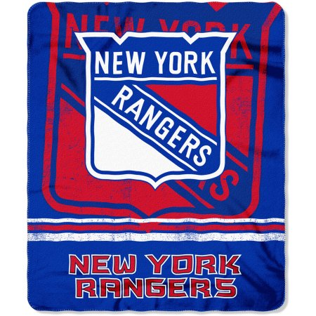 "NHL New York Rangers 50"" x 60"" Fleece Throw"
