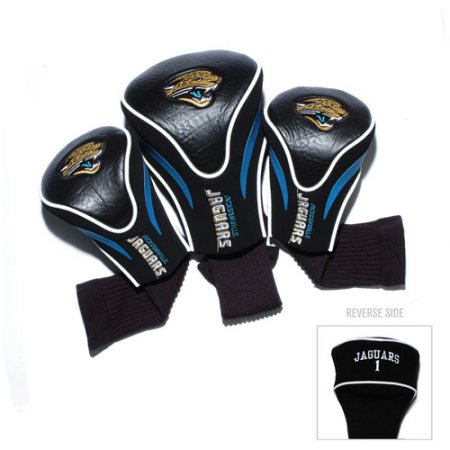 NFL Jacksonville Jaguars 3 Pack Contour Head Covers