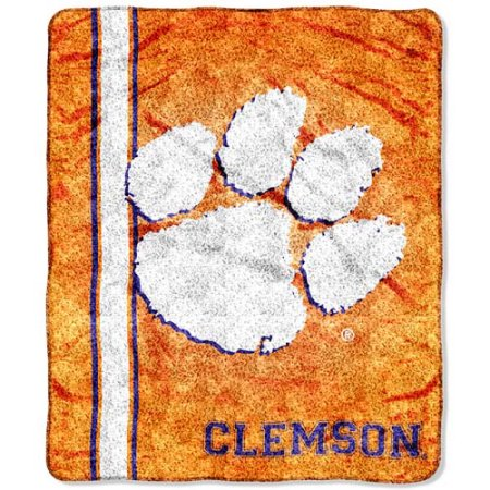"NCAA Clemson Tigers ""Jersey"" 50"" x 60"" Sherpa Throw"