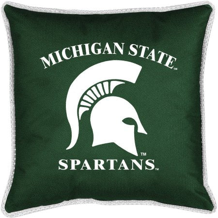 NCAA Michigan State Sidelines Toss Pillow