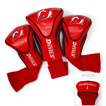 NHL New Jersey Devils 3 Pack Contour Head Covers