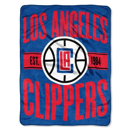 "NBA Los Angeles Clippers ""Clear Out"" 46""x 60"" Micro Raschel Throw Blanket"