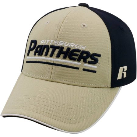 NCAA University of Pittsburgh Panthers Away Two Tone Baseball Hat \ Cap