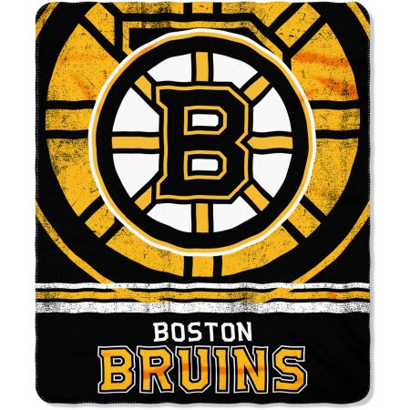"NHL Boston Bruins 50"" x 60"" Fleece Throw"