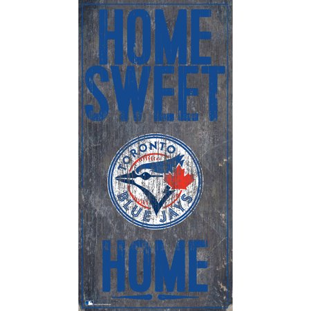MLB Toronto Blue Jays 6'' x 12'' Home Sweet Home Sign