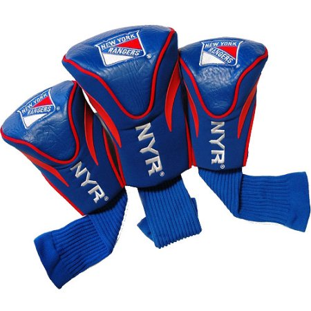 NHL New York Rangers 3 Pack Contour Head Covers