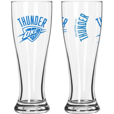 NBA Oklahoma City Thunder 2-Pack Gameday Pilsner Set