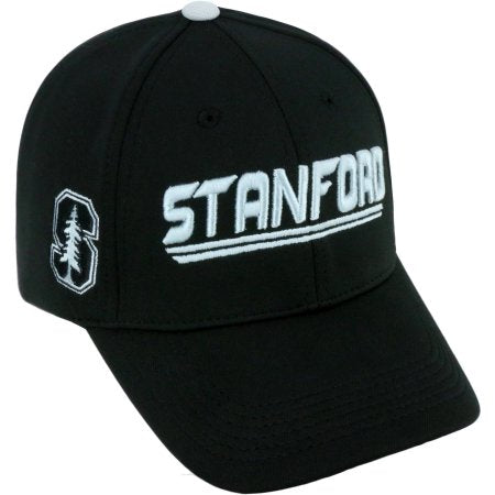 NCAA University of Stanford Cardinal Black Baseball Hat \ Cap