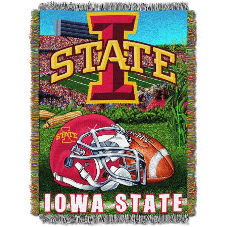 "NCAA 48"" x 60"" Tapestry Throw Home Field Advantage Series- Iowa State"