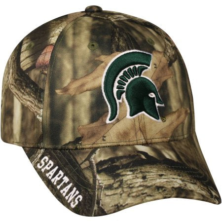 NCAA Men's Michigan State Spartans Mossy Hat \ Cap