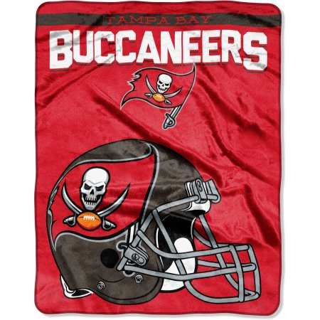 "NFL Tampa Bay Buccaneers ""Drawback"" 55"" x 70"" Silk Touch Throw"